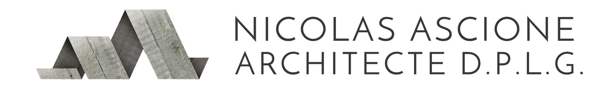 NICOLAS ASCIONE ARCHITECTE D.P.L.G.
